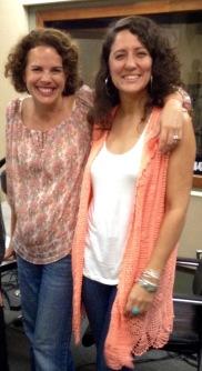 Tatiana Pérez y Mariela Fullana