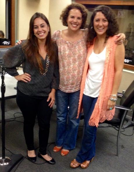 Yetzenia Álvarez, Tatiana Pérez y Mariela Fullana