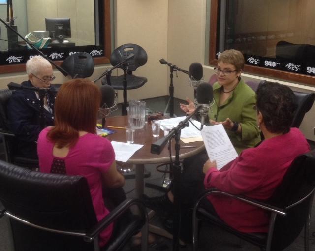 Beatriz Santiago, Dra. Lourdes Ramos, Magaly Quiñones, Awilda Caez