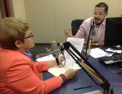 Dra. Lourdes Ramos y Rikii Sanabria