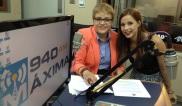 Dra. Lourdes Ramos y Valeria Bosch