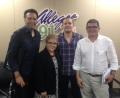 Carlos Roberto Gómez, Dra. Lourdes Ramos, Samuel Medina y Alfredo Torres