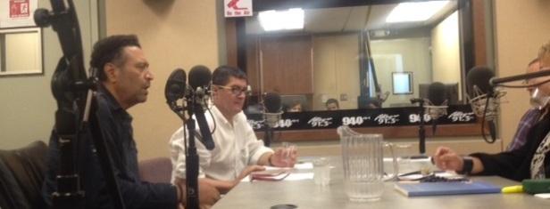 Carlos Roberto Gómez, Alfredo Torres, Samuel Medina y Dra. Lourdes Ramos