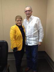 Dra. Lourdes Ramos y Lic. Enrique Vilá