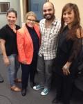 Alejandra Ramos, Dra. Lourdes Ramos, Heriberto Feliciano y Kisha Burgos