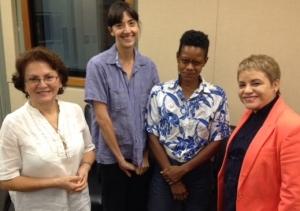 Amanda Marín, Tara Rodríguez, Michelle Nonó, Dra. Lourdes Ramos