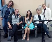 Maureen Justiniano, Aureo Andino, Alice Ayala, Carlos Cabrera, Dra. Lourdes Ramos