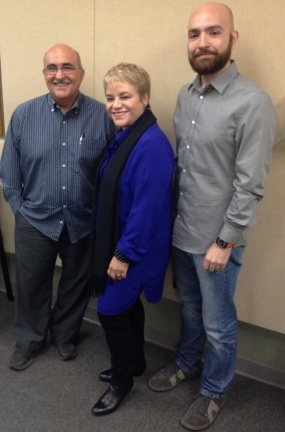 Arq. Jaime Suárez, Dra. Lourdes Ramos y Daniel Expósito Sánchez