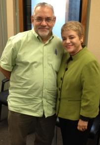 Arq. Jorge Rigau y Dra. Lourdes Ramos
