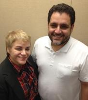 Dra. Lourdes Ramos y Pedro Reina Pérez