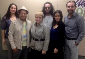 Jocelyn Capeles, Julio Amill, Dra. Lourdes Ramos, Omar Velazquez, Tari Berozsi, Juan Carlos Quintero
