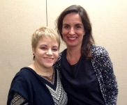 Dra. Lourdes Ramos y Mireia Sallarés
