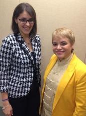 Stephanie Gómez y Dra. Lourdes Ramos