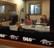 Nuria Ortiz, Ariadna Godreau y Yetzenia Álvarez.